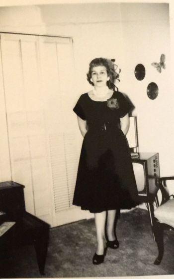 Elaine Recla Tibesart - 1950s