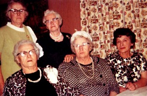 Esther, Tillie, Dora, Erma, Ann