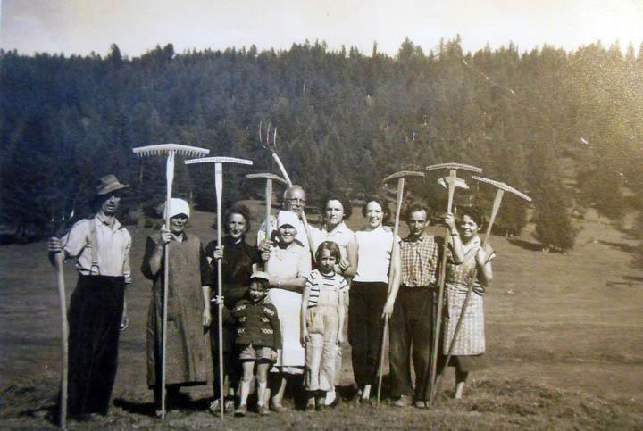 Genetti family, Castelfondo, Italy