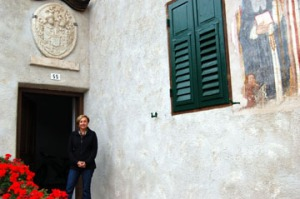 Genetti homestead in Castelfondo