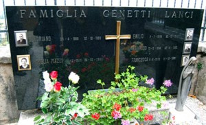 Family plot of Genetti Lanci