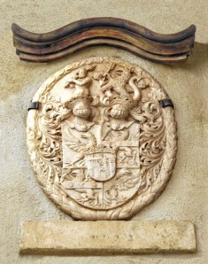The Genetti Family Coat-of-Arms in Castelfondo, Italy.