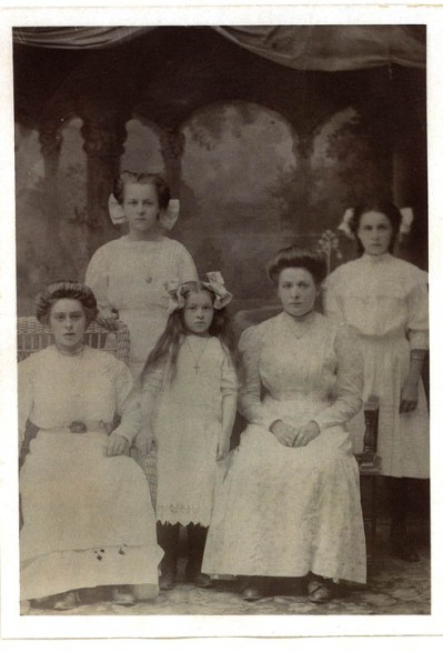 The five Genetti Sisters
