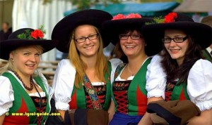Tyrolean Folk Costumes