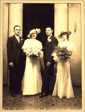 1935 - Wedding Party