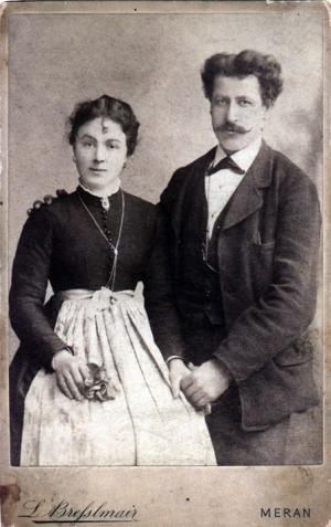 Tillie Genetti and Pietro Zambotti