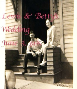 Lewis J. Reich and Betty (Zambotti) Reich