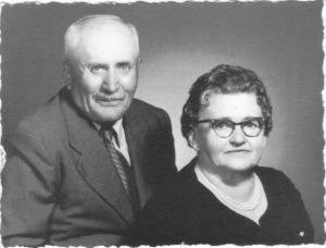 Fortunato (Tuno) & Grace Dallachiesa 1963