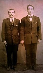 Pietro Zambotti and Leon Genetti