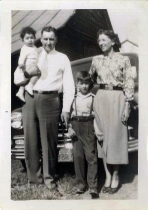 Albert Genetti and Family