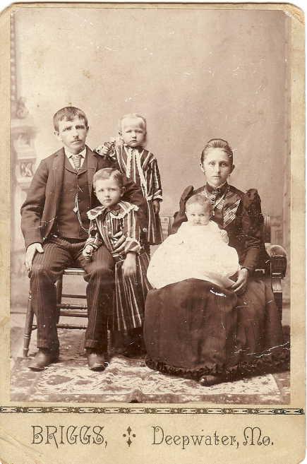 Katherine Genetti and Anton Mallmann with family
