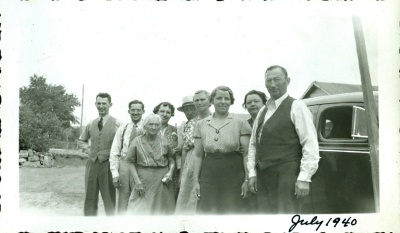 1940 Family Group, Wyoming