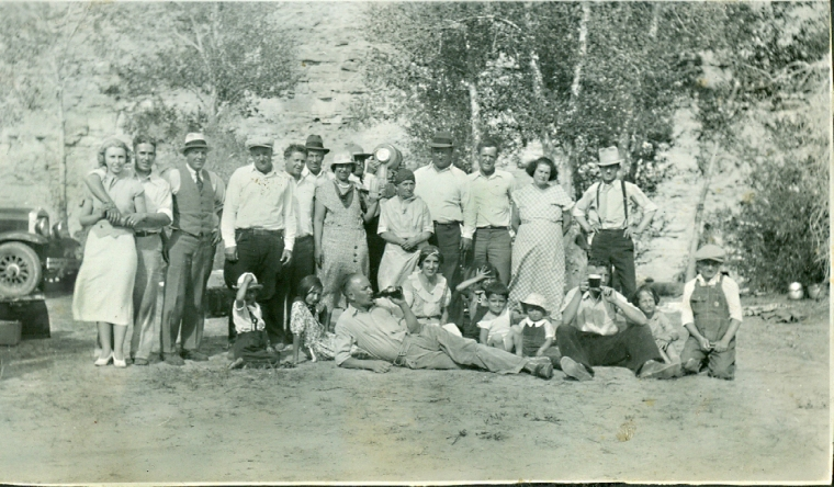 1934 LaBarge, Wyoming