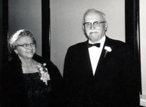 Angeline and Leone Genetti, 1961