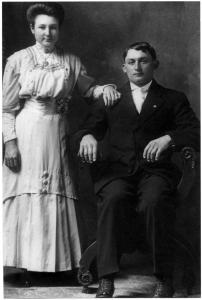 Rosa and Charles Genetti, 1911