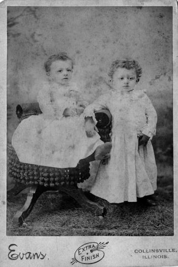 John and Charles Genetti, 1890