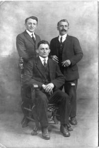 John, Charles and Vigilio Genetti