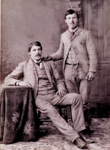 Raffaele Genetti and Simone Zambotti, about 1890