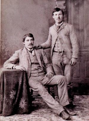 Raffaele Genetti and Simone Zambotti, about 1890
