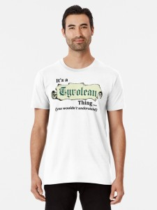 It's a Tyrolean thing T-shirt